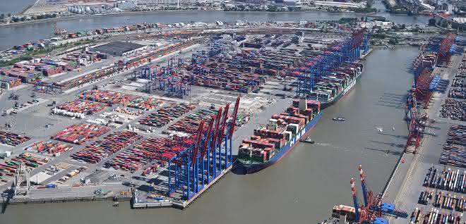 Auswirkungen der Corona-Pandemie prägen das Ergebnis des Hamburger Hafens