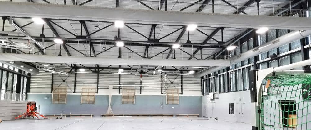 Sporthallenbeleuchtung