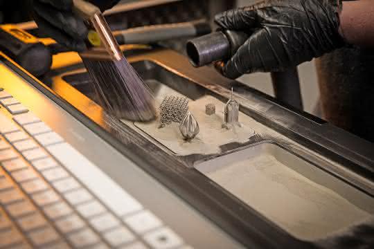 Additiv gefertigte Prototypen
