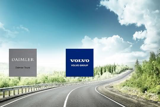 Daimler Truck und Volvo Group gründen Brennstoffzellen-Joint Venture