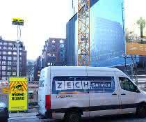 Video Guard sichert Deutschlandhaus-Baustelle in Hamburg