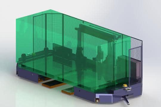 C-Frame: Material gabelfrei transportieren