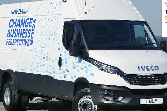 Iveco Daily gewinnt bei den Fleet World The Great British Fleet Awards
