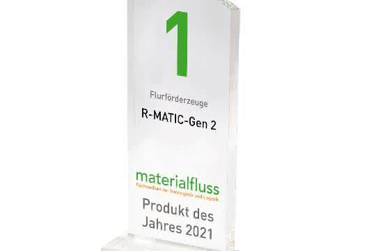 materialfluss PRODUKT DES JAHRES 2021: Linde Material Handlings R-Matic-Gen 2 siegreich