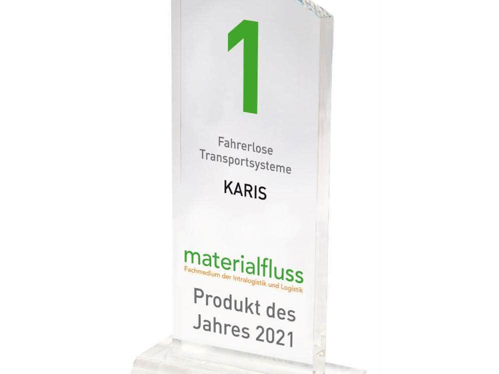 materialfluss PRODUKT DES JAHRES 2021: Gebhardts FTS Karis setzt sich durch