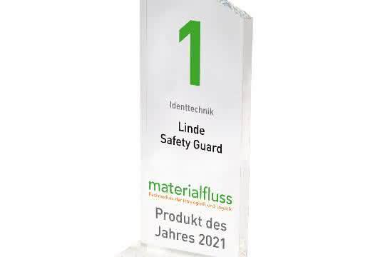 materialfluss PRODUKT DES JAHRES 2021: Linde Safety Guard auf Platz 1