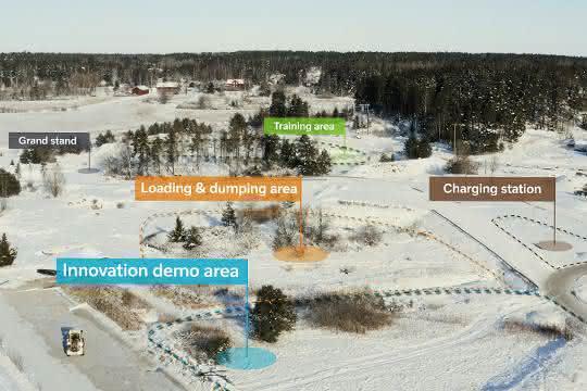 Neuer Testbereich: Volvo Construction Europe errichtet neuen Test- und Demo-Bereich