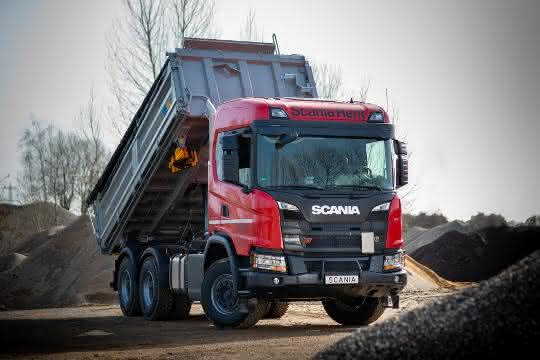 Dreiseitenkipper: Scania Rent erhöht Kipper-Angebot