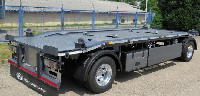 Behälter-Transport-Anhänger: Ein BTA für einen erweiterten Einsatzbereich