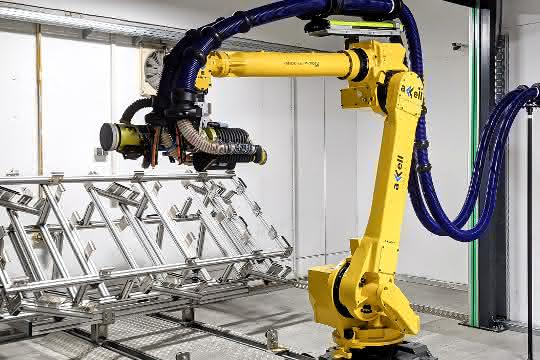 Schleifroboter: Höhere Produktivität dank Schleifroboter