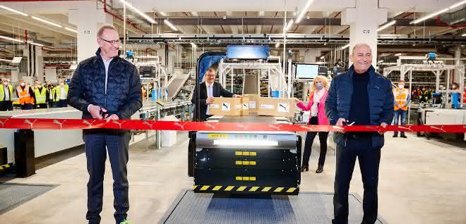 BLG startet den Betrieb im europäischen Logistikzentrum von PUMA