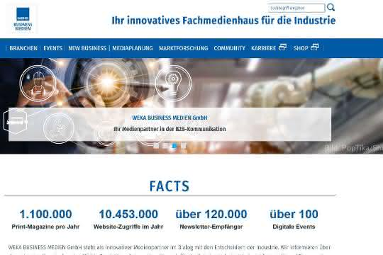 www.weka-businessmedien.de in neuem Gewand