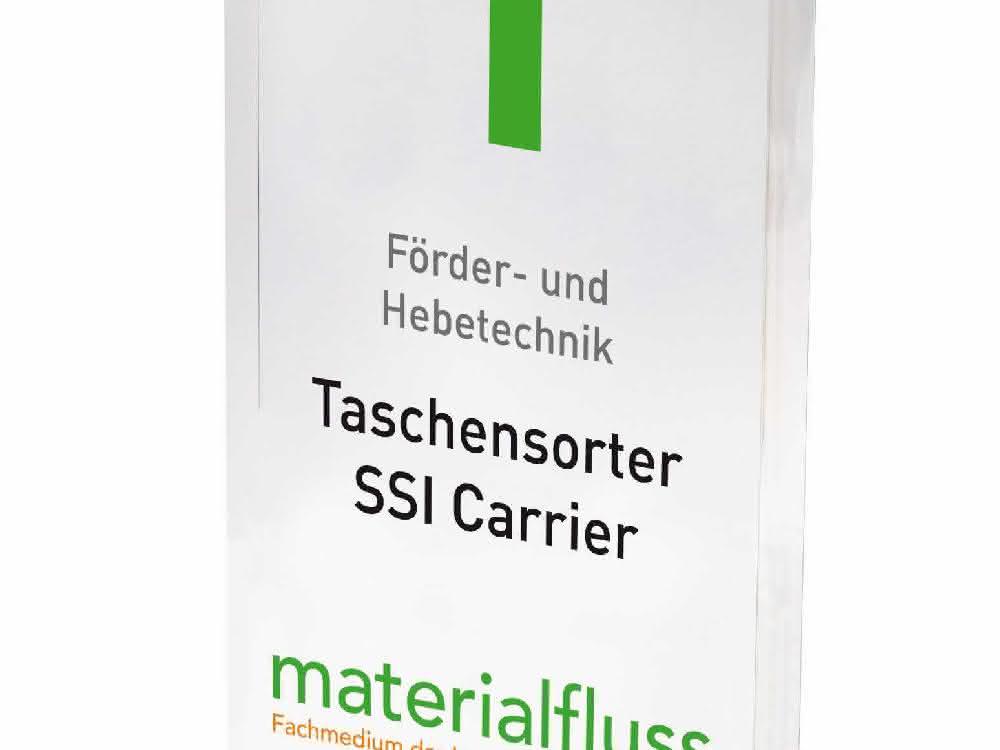 materialfluss PRODUKT DES JAHRES 2021: Taschensorter SSI Carrier gewinnt