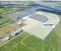 Nordfrost in Wesel: Hafenbetrieb gestartet
