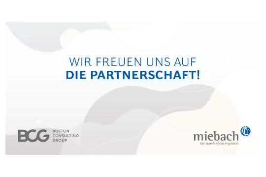 Boston Consulting Group und Miebach Consulting arbeiten zusammen