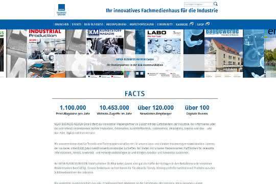 Website von WEKA BUSINESS MEDIEN