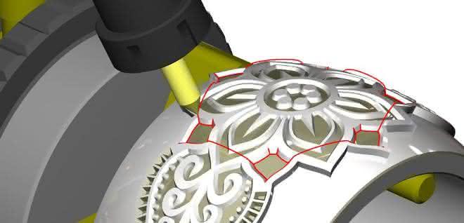 Gravieren und Ausspitzen im CAD-CAM-System