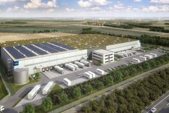 Garbe Industrial Real Estate baut in Giengen Verteilzentrum für Amazon