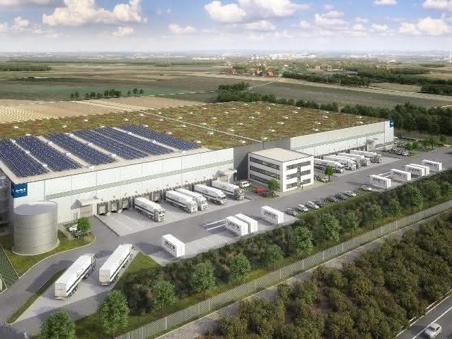 Garbe Industrial Real Estate baut in Giengen Verteilzentrum für Amazon