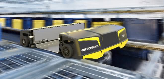 Shuttle-System SSI Cuby schneller und schöner