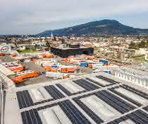 Gebrüder Weiss nimmt weitere Photovoltaikanlagen in Betrieb