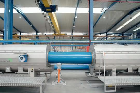 Rohrproduktion