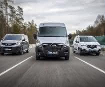 Opel/Vauxhall steigert Verkäufe von leichten Nutzfahrzeugen deutlich