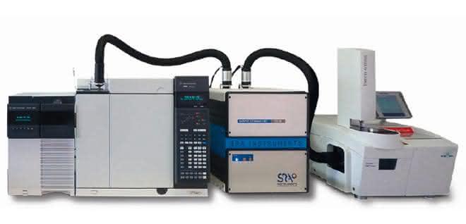 Kopplung von TGA-IST16-GC/MS