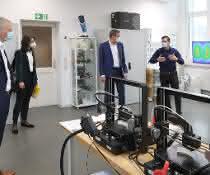 Aus der Corona-Sonderförderung wird in Technologie und Organisation investiert.