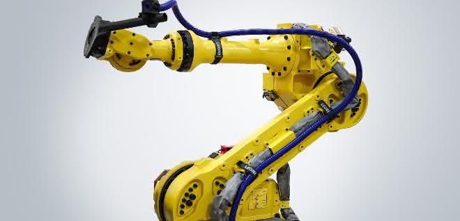 Roboter mit Kabelmanagementlösung