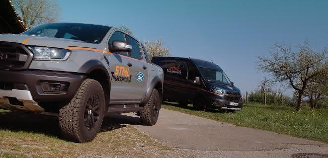 Ford wird neuer Mobilitätspartner von Stihl Timbersports