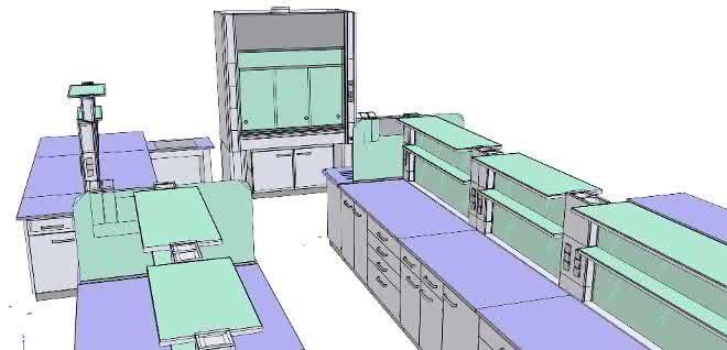 CAD-Laborplanung