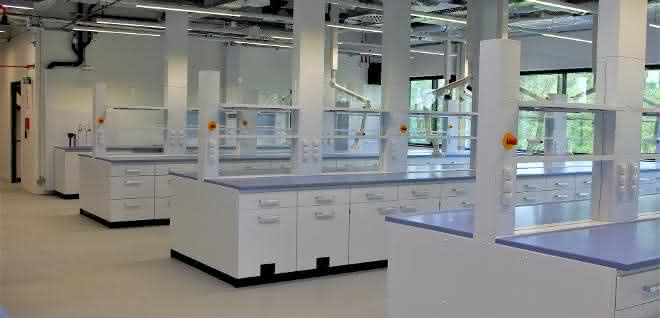 Laborarbeitsplätze