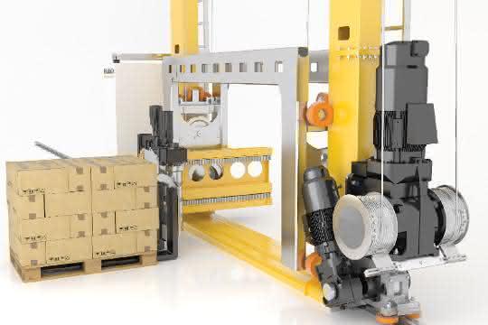 materialfluss PRODUKTSOMMER: Ein Regalbediengerät für bodenebene Auf- und Abgabe