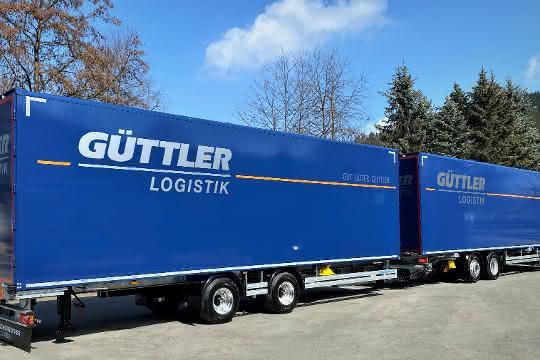 Neuer Gigaliner: Güttler rüstet für Stückgut-Transporte auf