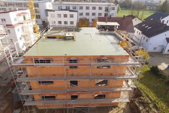 CO2-reduzierter Beton: Vertua bewährt sich bei Wohnbauprojekt