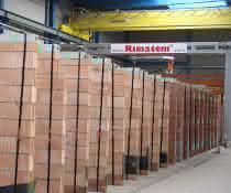 Täglich bis zu 1.500 Quadratmeter Mauerwerk
