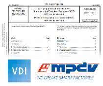 VDI-Richtlinie 5600 Blatt und Logos