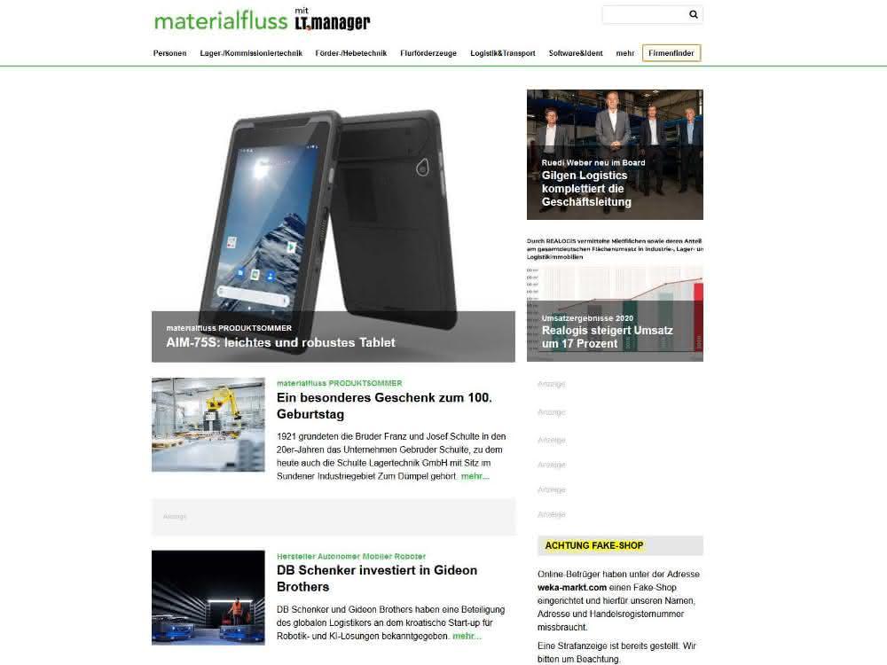 contentpass: Besserer Datenschutz auf www.materialfluss.de