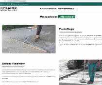 Pflaster-Verlegezangen: Hunklinger eröffnet neuen Online-Shop