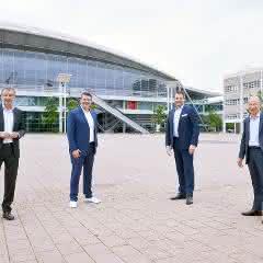 Uwe Behm, Michael Biwer, Dr. Björn Mathes, Dr. Thomas Scheuring