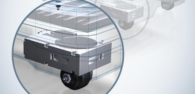 ebm-papst ArgoDrive ermöglicht omnidirektionales Fahren