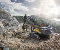 Neue 50-Tonnen-Bagger von Volvo