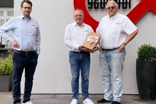 Gebhardt verabschiedet Frank Apel in den Ruhestand