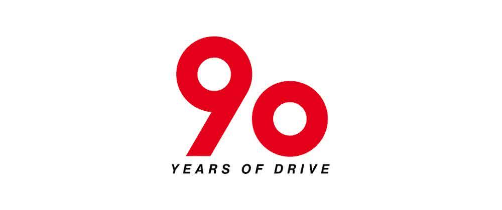 Logo 90 Jahre SEW-Eurodrive