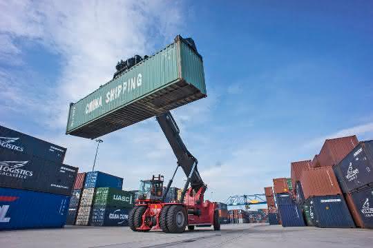 duisport verzeichnet zweistelliges Wachstum im Containerumschlag