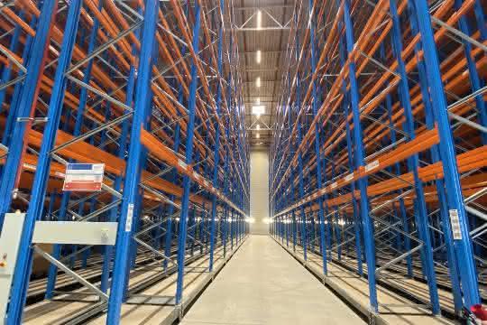 stow realisiert 12.300 zusätzliche Palettenstellplätze bei Greiwing