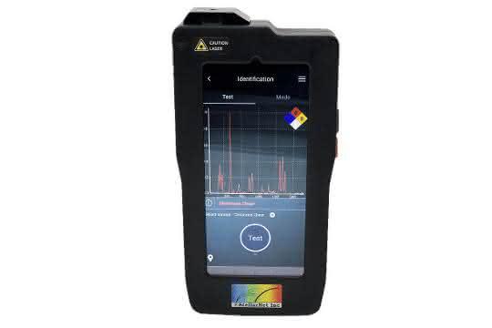 Handheld-Ramananalysator