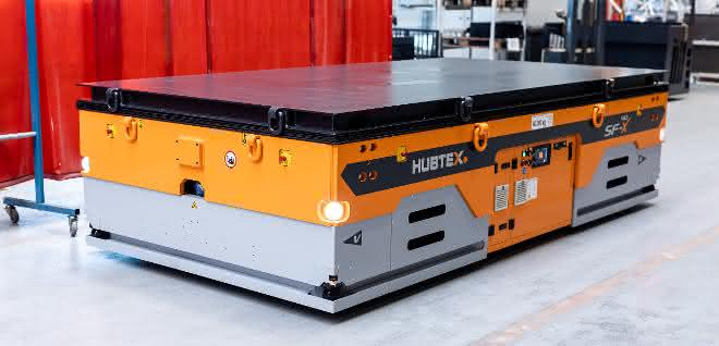 Hubtex entwickelt Plattformtransporter für Industrie 4.0