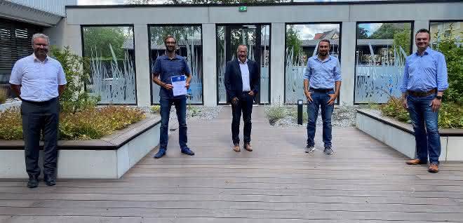 Glöckle Hoch- und Tiefbau GmbH erhält Bescheinigung für Arbeitssicherheit